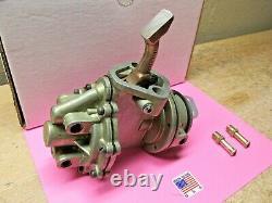 1960(late) 1961 1962 Rambler L6 Double Action Rebuilt Fuel Pump Ethanol Safe