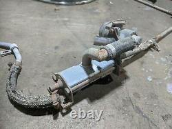 1968 PORSCHE 912 SMOG Pump Check Valve & Tubing with Clamps, Vacuum Pot