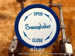 3 USED Swagelok 6LV-BNBW4 6LV-BNBW4-BL Stainless Vacuum Valves FREE SHIPPING