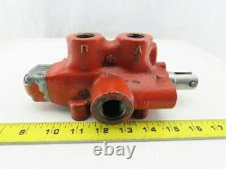 4 Port 2 Position Manually Operated Spool Valve 1/2 x 3/4 Ports