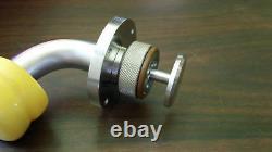 Amat 3870-00229 Valve Assembly Press Relief Vacuum Sst Kf-25 Flange New