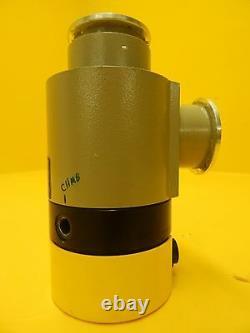 Balzers BP V16 001 Vacuum Right Angle Valve EVA 040 P BPV16001 Used Working