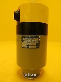 Balzers EVA 040 P Vacuum Right Angle Valve BP V16 001 BPV16001 Used Working