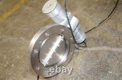 Butterfly Gate Valve with Actuator Jeol Seiko Seiki Turbo Pump 4 Inch
