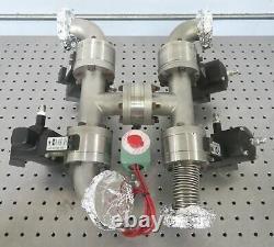 C176103 Lot 4 Nupro Whitey 304-24VFO-9D Butterfly Vacuum Valves 2.75 CF Conflat