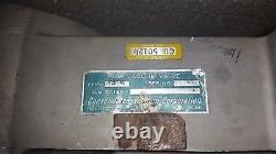 Consolidated Vacuum Corporation VCS-41 High vacuum Manual Gate Valve