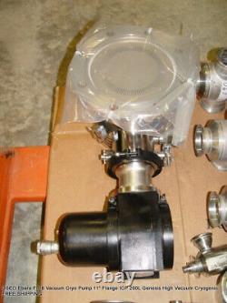 Ebara FS-8 Vacuum Cryo Pump Valve 11 Flange ICP 200L Cryogenic FREE SHIPPING