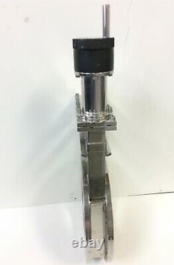 Edwards High Vacuum International GVA 060 M Manual Gate Valve 11.00 OD 6.00 ID