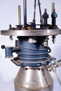 Edwards High Vacuum Valve / Speedivac Diffusion Pump Mercury Vapor Vapour Trap