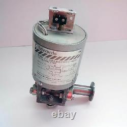 Edwards SV10 Speedivac High Vacuum Magnetic Valve Isolation type 1/2 0.5 inch