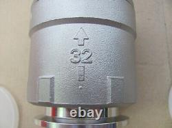 Exhaust Check Valves Abgas Rückschlagventil 32x80L Flansch-Ø / KF 40 Vakuum