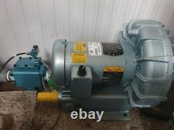GAST R5325A-2 Regenair Regenerative Blower With 58D-83-RE REMOTE AIR VALVE With 35A