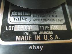 GEMINI VALVE - 4 WAY PILOT VALVE 4GP / CW-C / with Switch Type LS-1
