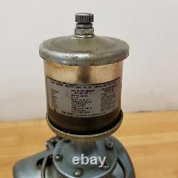 Gast 0465-V2A, Rotary Valve Vaccum Pump with Oil Reservoir. USED