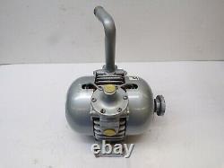Gast Mfg Corp. Rotary Valve Vacuum Pump 2065-v2a, 9803004240, Max RPM 3700