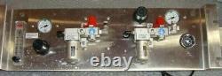 Gauges, Regulator, Purge Valve and Piab Vacuum Pump X20F6-KN