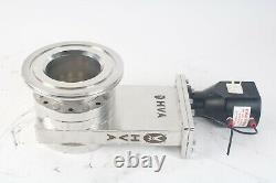 High Vacuum Apparatus 1121 Pneumatic Vacuum Gate Valve AS IS