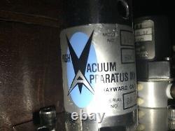 High Vacuum Apparatus Gate Valve Model 122-0301 6 OD 3 ID