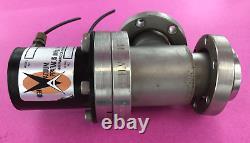 High Vacuum Apparatus HVA 165-0150-2 Pneumatic Right Angle Valve Conflat Flange