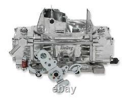 Holley 600 CFM Street Warrior Carburetor With Manual Choke & Vacuum Secondaries