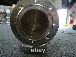 Huntington EV Series EV-250 Manual Angle Valve with VAC-U-FLANGE Rotatable Flanges