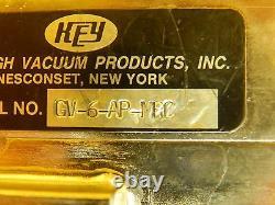 Key High Vacuum GV-6-AP-MRC Gate Valve MRC Eclipse Star Used Working