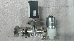 Leybold EV 010 EM AL Venting Angle Vacuum Valve TTR 90 S Thermovac Transmitter