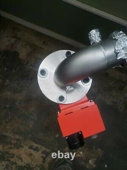 Leybold Turbovac TMP 360V Turbo molecular Vacuum Pump with Tylan Valve