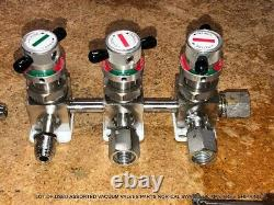 Lot Of Used Assorted Vacuum Valves Parts Nor-cal Swagelok Mks Free Shipping Q