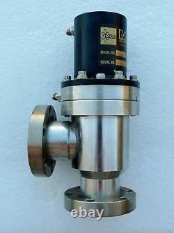 MDC Av-150m-p Sp Vacuum Angle Valve Cf Ports 2-3/4 Pneumatic 1.5 Uhv New