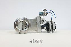 MDC EGV-2500M-P Pneumatic Vacuum Gate Valve // 4.5 CF / DN63CF // VAT / Varian