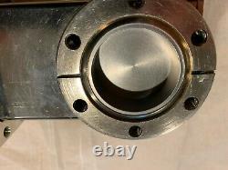 MDC GV-1500V UHV 2.75 CF Manual Vacuum Gate Valve Stainless O-ring Bonnet Seal