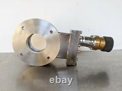 MDC Vacuum Gate Valve GV-2500V-ASA // Manual // 2-1/2 Open // ASA 6 inch Flange