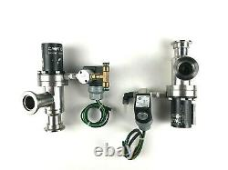 MDC Vacuum Products KAV-100-P SP HV Series KF-25 Right Angle Pneumatic Valve