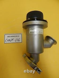 MKS Instruments 161-0040K Inline Angle Manual Valve Used Working