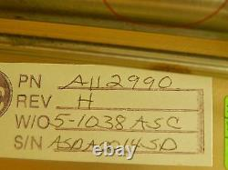 MRC Materials Research A112990 Throttle Valve Assembly Rev. H Eclipse Star Used