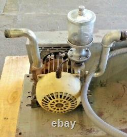 Mfg Gast Corp. Roatary Valve Vacuum Pump (2), Doerr Motor Aircraft Compressor