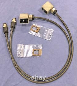 NEW Oerlikon Leybold 24V Purge/vent valve Connection Cable Kit 24V 411300V01