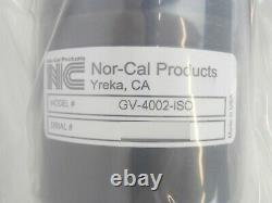 Nor-Cal Products GV-4002-ISO 4 ISO-F Gate Valve 470-158791-00 New Surplus