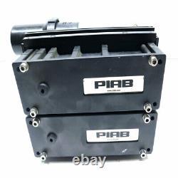 PIAB M200 MPM Vacuum Pump 150 PSI with MAC 55B-12-RA 3-Way Solenoid Valve