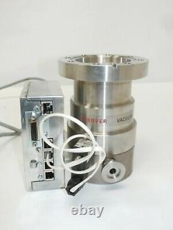 Pfeiffer Vacuum TMU 071 P Turbo Vacuum Pump with TC 600 Controller, TVF 005 Valve