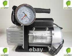Pump Vacuum 125 Single-stage Lt Min 70 With Solenoid Valve And Gauge Oil