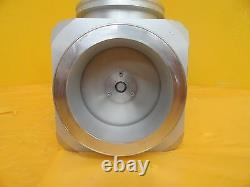 SMC XLD-100D-X510 Pneumatic High Vacuum Angle Valve ISO100 Used Working