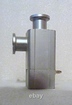 Smc Xla-16 High Vacuum Angle Valve Lf-16 Nw16 Flange Size