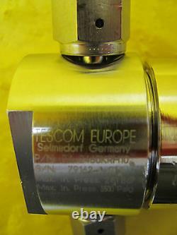 Tescom 74-2460KRH10 Manual Diaphragm Regulator Valve Used Working