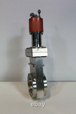 Thermionics PFB-TLG-4000-H Manual Vacuum Gate Valve // 6 CF / DN100CF / VAT MDC