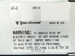 Tylan General AC-2 Throttle Valve Controller Mattson 000-AC200-00 Working Spare