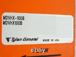 Tylan General MDVHX-100B Heated Gate Valve MDVHX100B Novellus Working Surplus