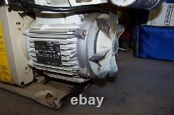 U. S. Valve Two Stage Rotary Vane Vacuum Pump 115/208-230 Vac 1 HP 1 Phase 400-14