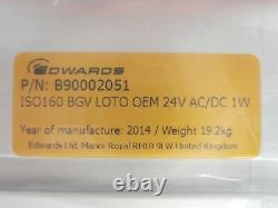 VAT 09044-PE44-ABO1 Basement Gate Valve Edwards B90002051 New Surplus